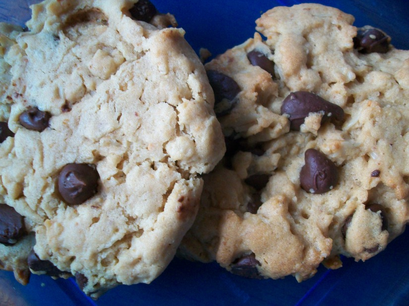 Oatmeal Choc Chip cookies