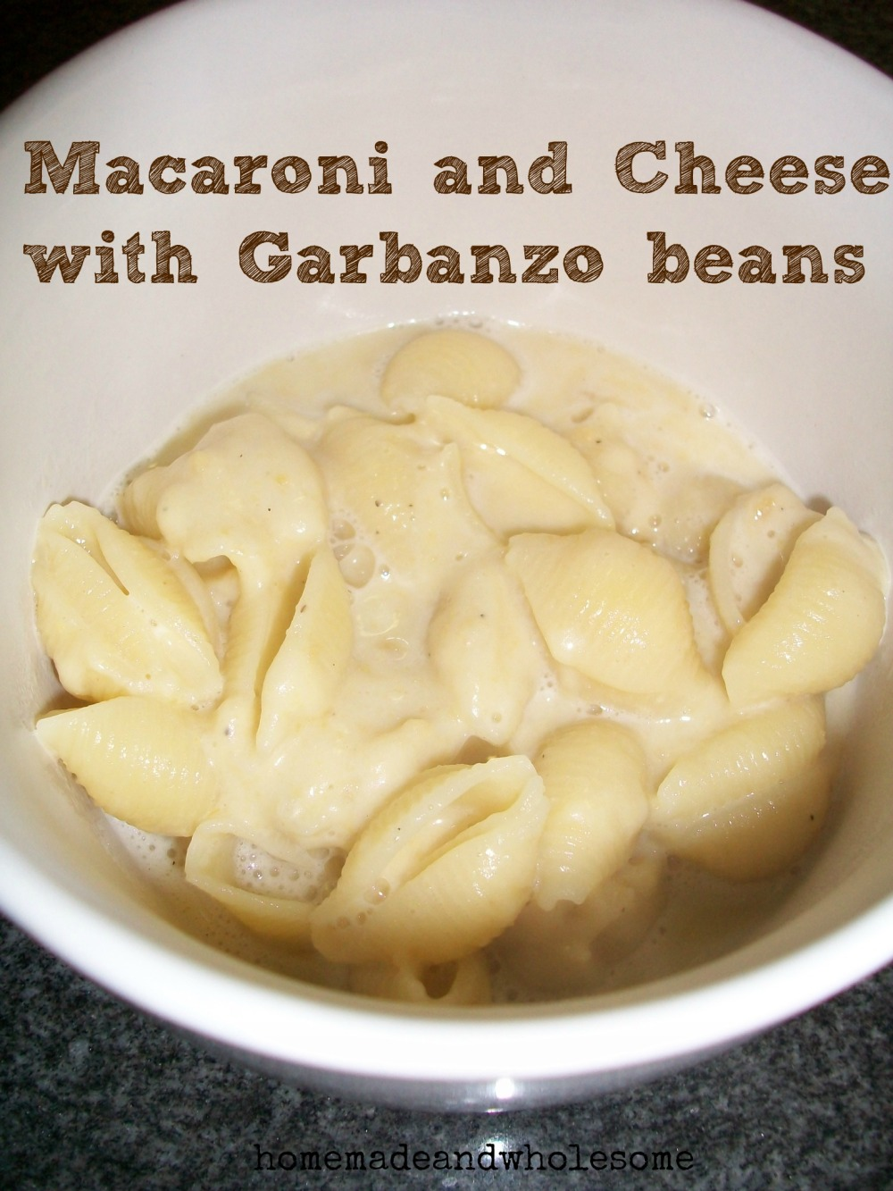 macaroni and cheese with beans