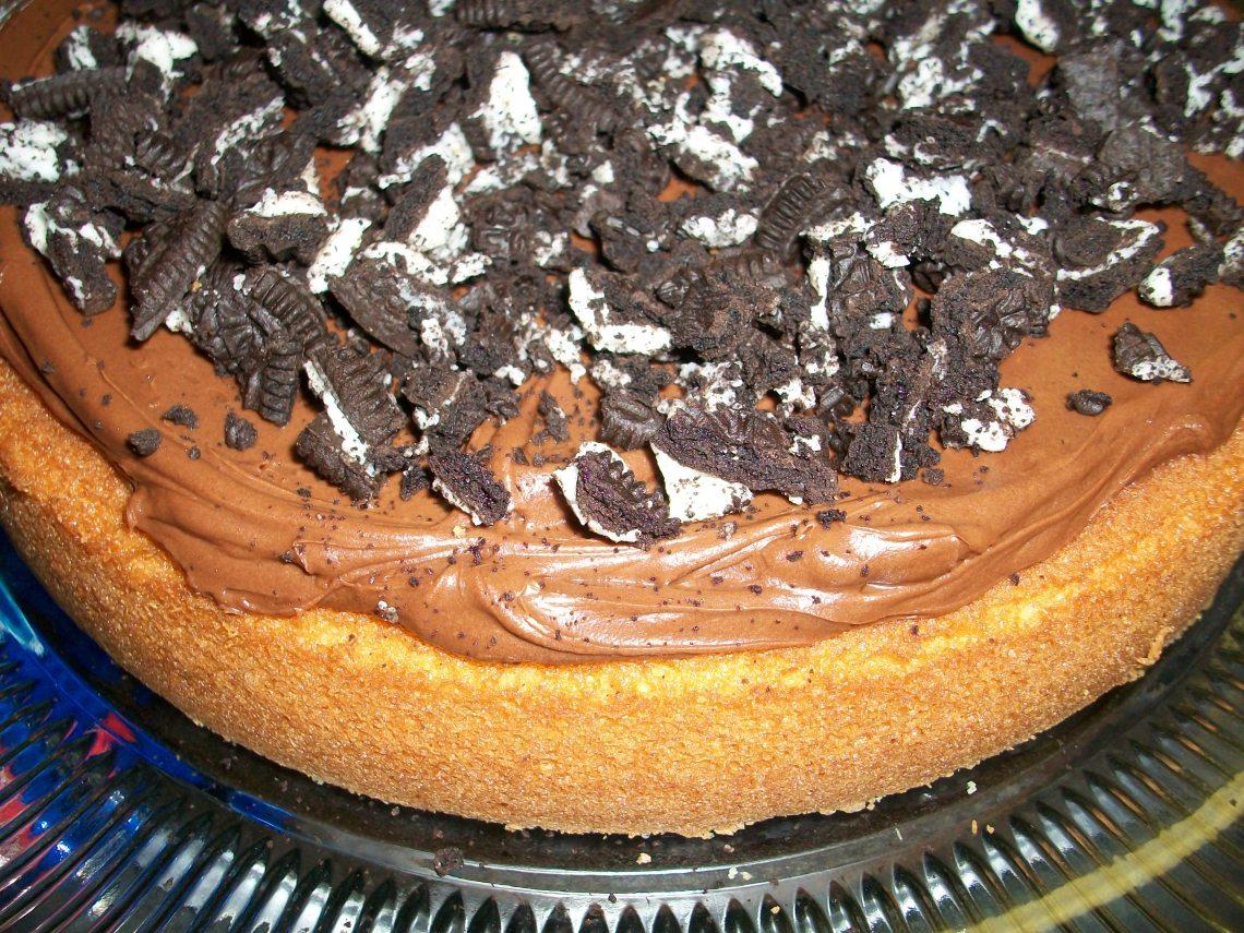 Thomas' birthday cake