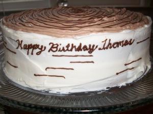Happy Birthday Thomas