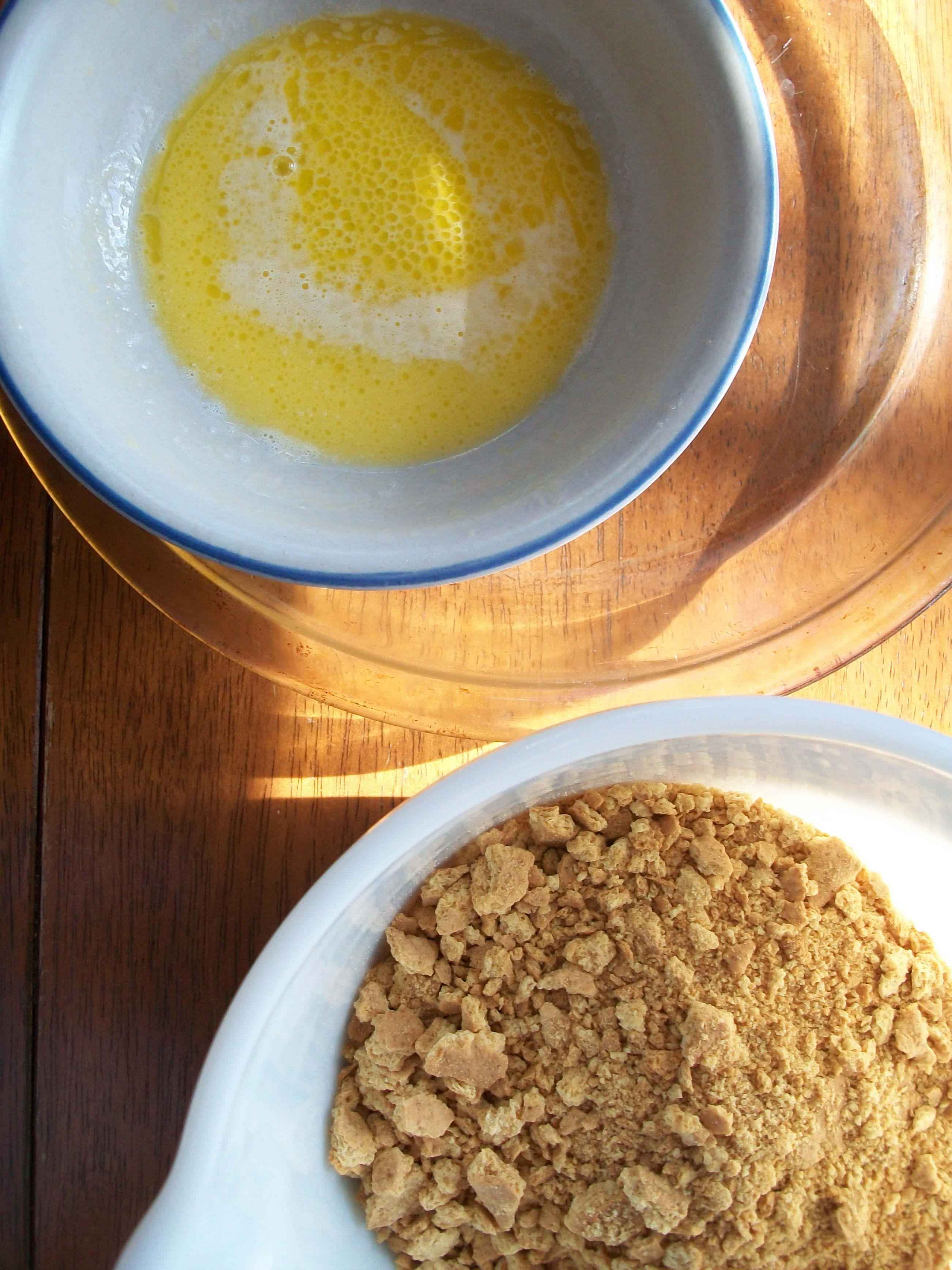 how to make graham cracker crust without butter
