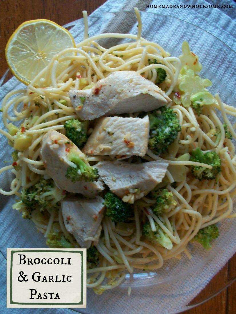 Broccoli and Garlic Pasta