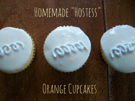 Homemade Orange Cupcakes
