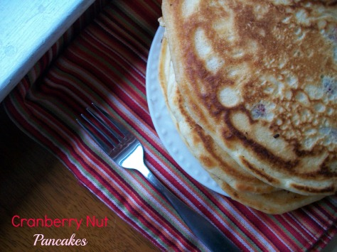 Cranberry Nut Pancakes